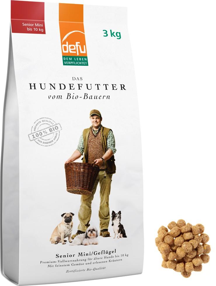 100%iges Bio Hundefutter ( Mehrfacher Testsieger / Zertifiziert )
